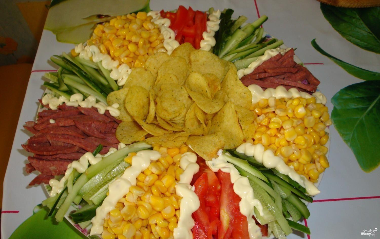 консервированная кукуруза рис