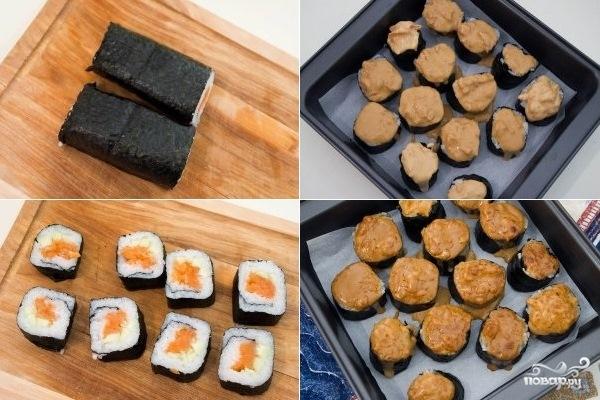 Горячие суши - фото шаг 3