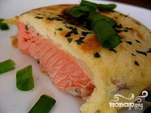 Рыба с пармезаном