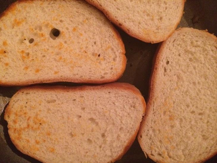 Рецепт Тосты с ветчиной и овощами