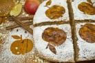 Творожно-яблочная запеканка с ароматом корицы