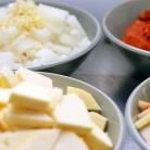 Рецепт Суп с колбасой и сладким картофелем