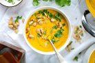 Имбирно-морковный суп-пюре