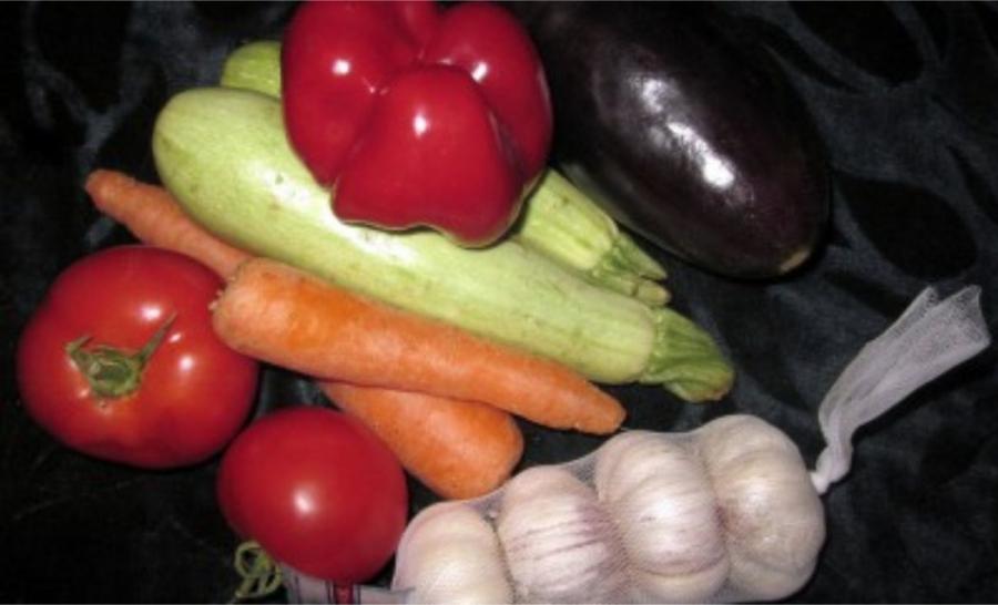 Тушеные овощи в утятнице - фото шаг 1