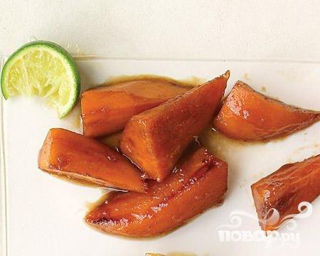 Рецепт Глазированный сладкий картофель с лаймом
