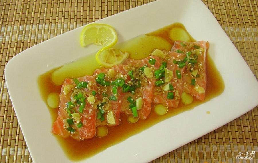 Рыба по-японски - фото шаг 7