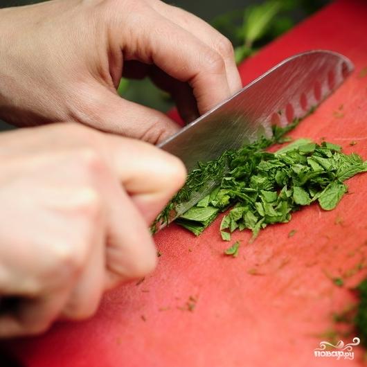 Восточный салат - фото шаг 3
