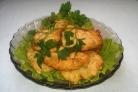 Отбивные из куриного филе на сковороде