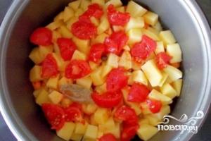 Картофель тушеный с кабачками - фото шаг 8
