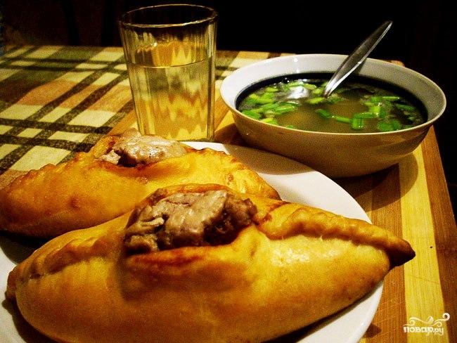 рецепт приготовления расстегаев с мясом пошаговый