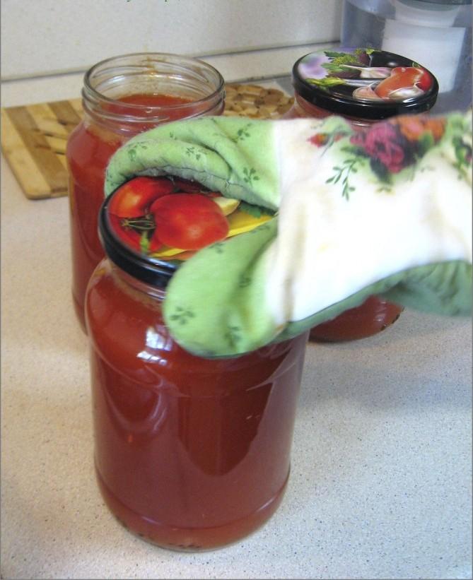 Сок из помидоров на зиму - фото шаг 4
