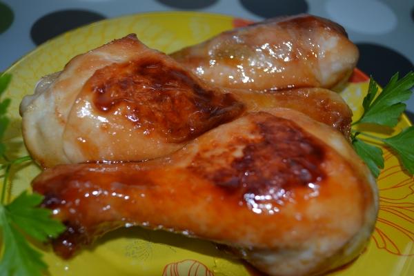 Курица с медом в мультиварке - фото шаг 6