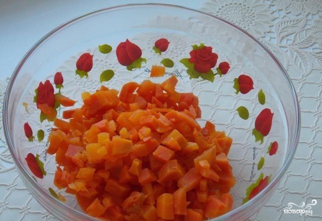Любимый салат Петра 1 - фото шаг 1