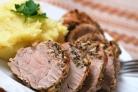 Свинина с розмарином в духовке