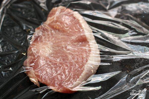 Венский шницель из свинины - фото шаг 2