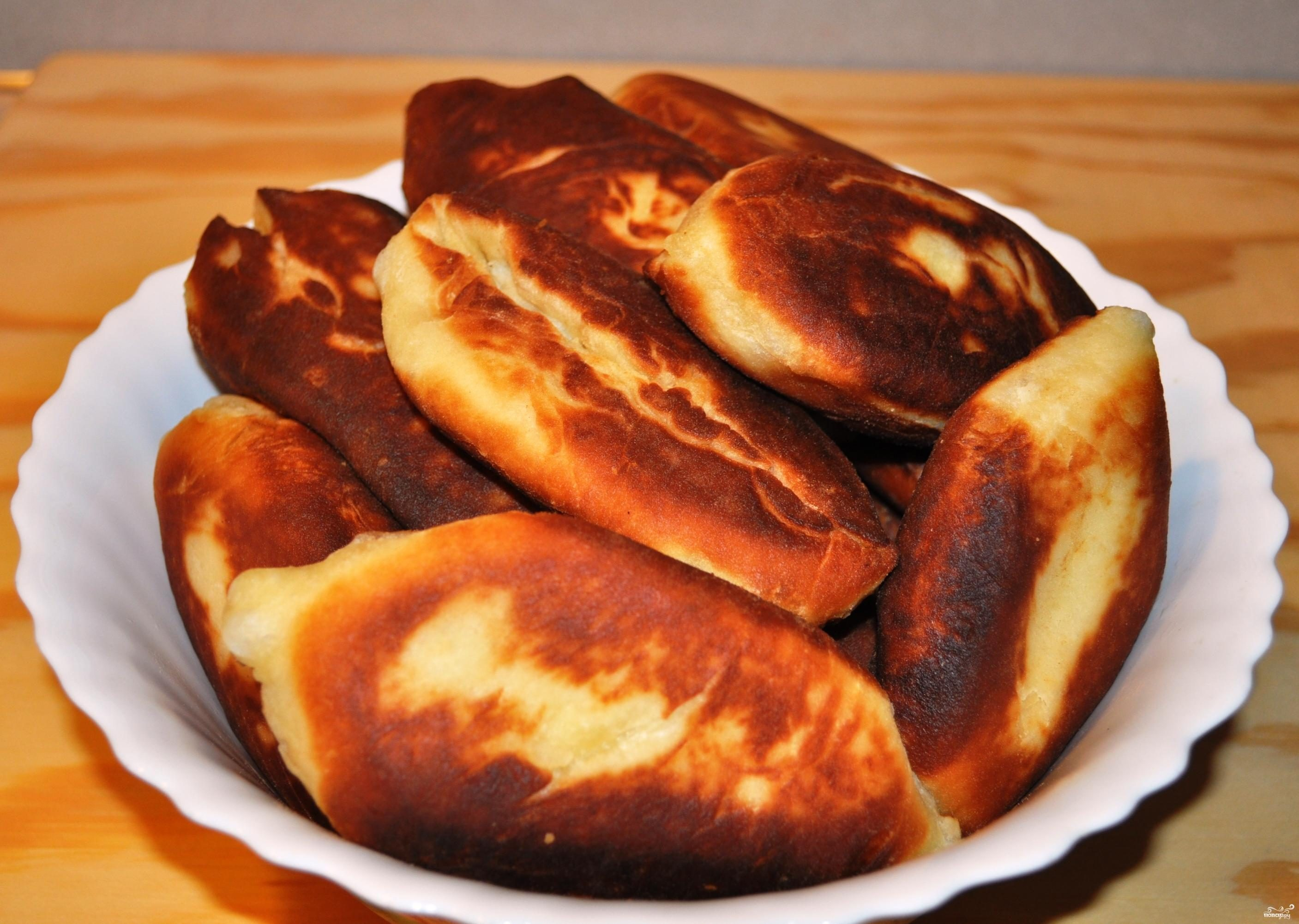 пирожки рецепт с фото пошаговый