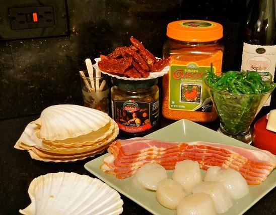 Рецепт Гребешки под соусом