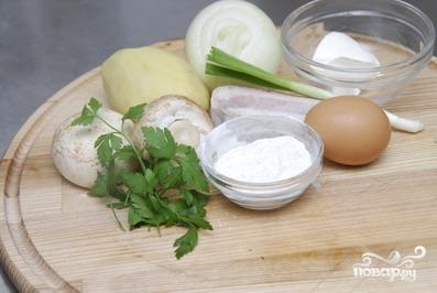 Рецепт Картофельная колбаса