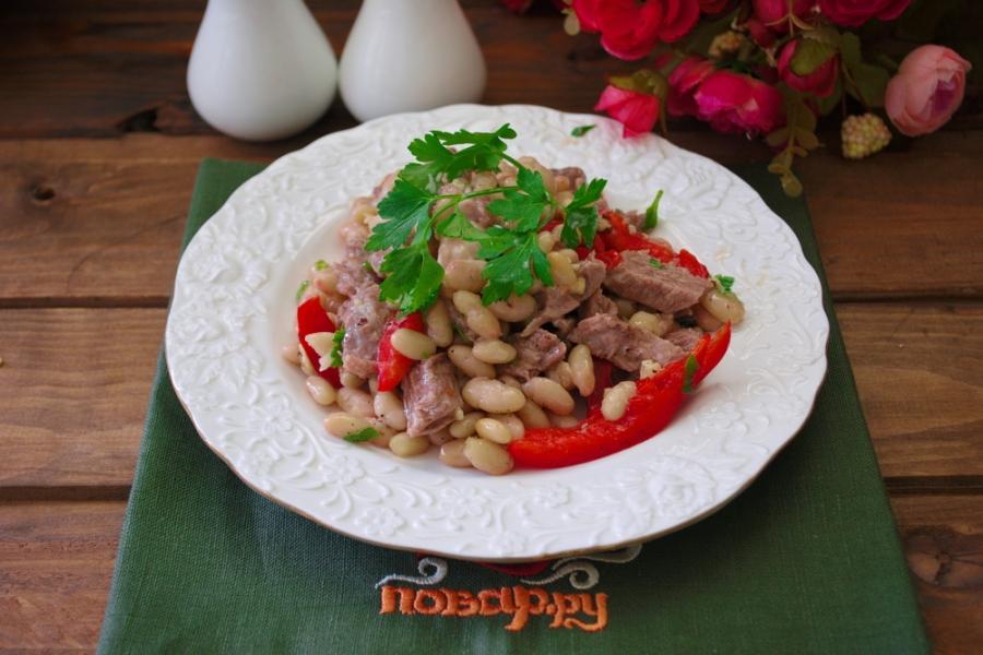 Салат тбилиси с пошаговым фото