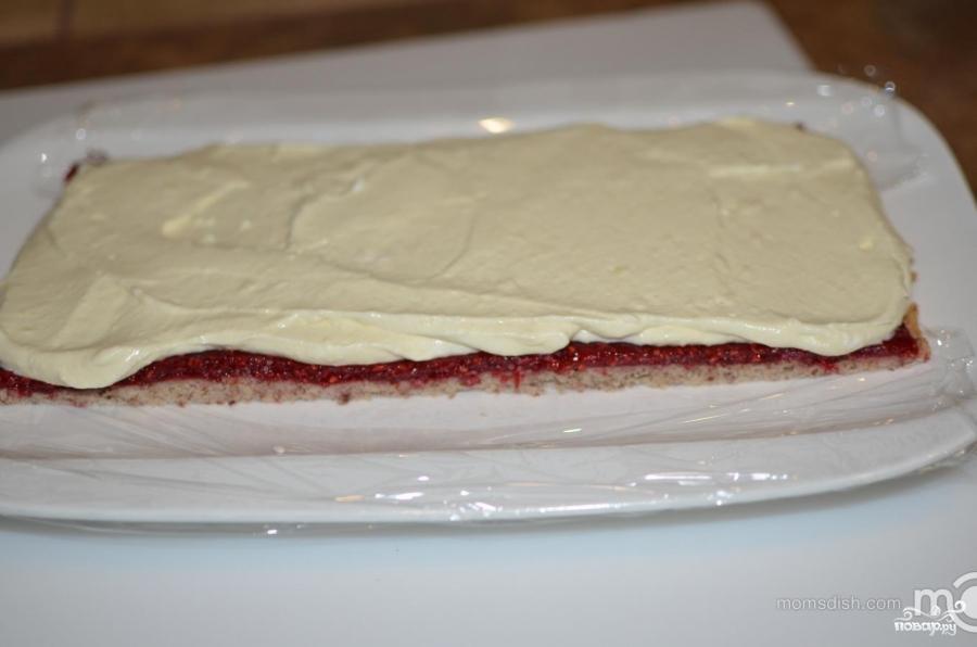 Малиновый торт - фото шаг 19