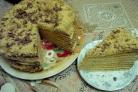 Торт Медовик шифоновый