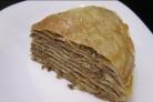 Блинный торт с фаршем