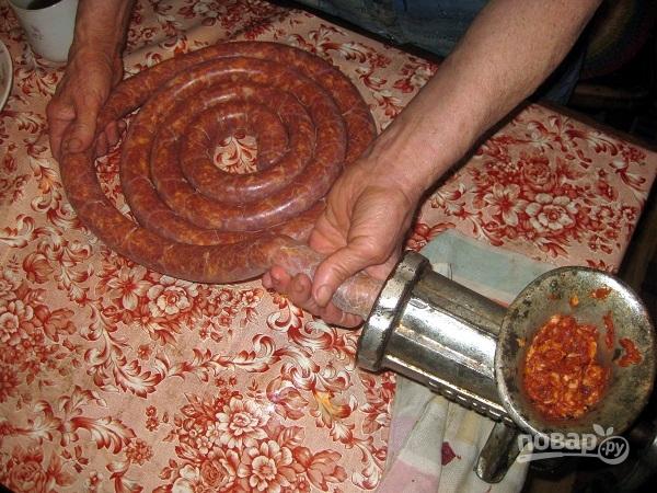 Колбаски в духовке - фото шаг 5