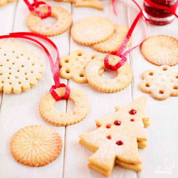 Печенье на новогоднюю елку