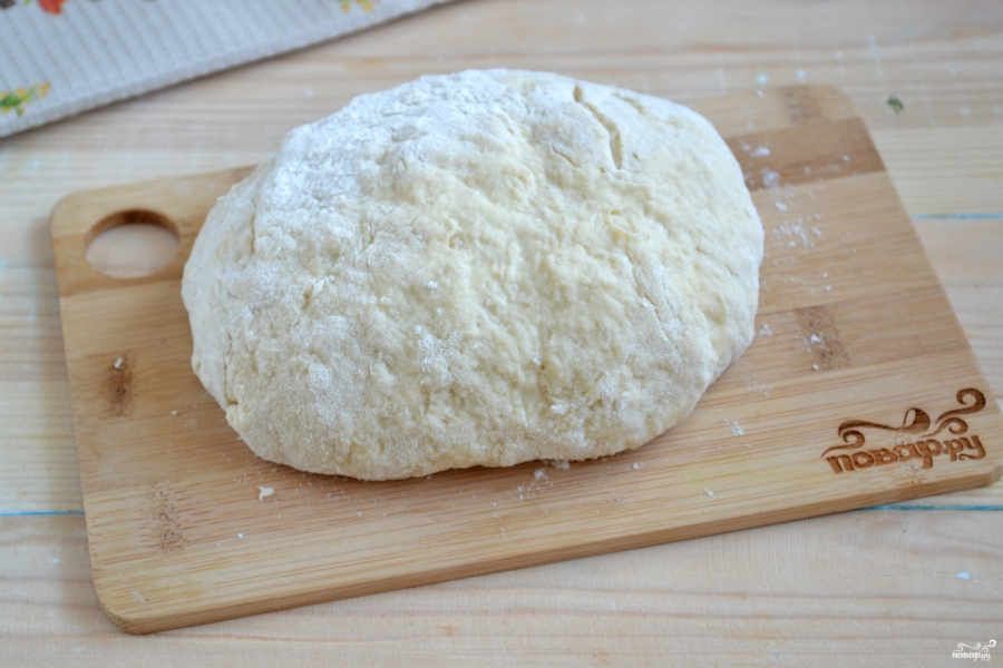 Пицца на кефире без дрожжей - фото шаг 4