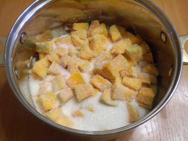Варенье из тыквы с имбирем и лимоном - фото шаг 4
