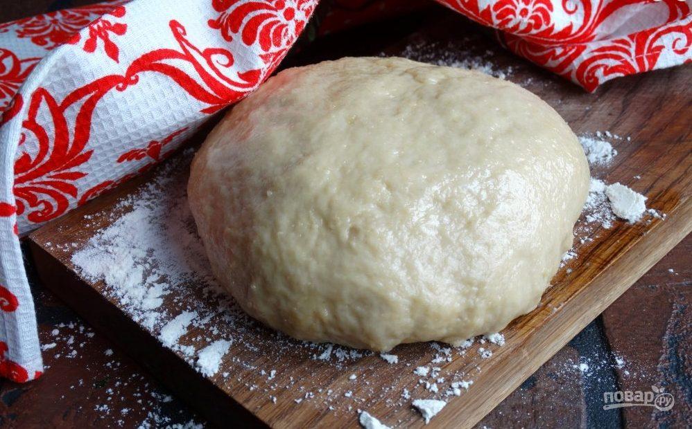 Бездрожевое тесто на пирожки