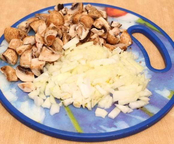 Рецепт Перловка с грибами в мультиварке