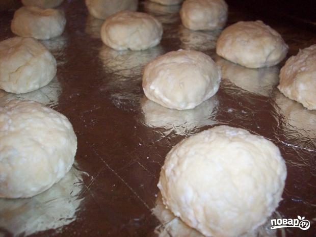 Сырники, запеченные в духовке - фото шаг 4
