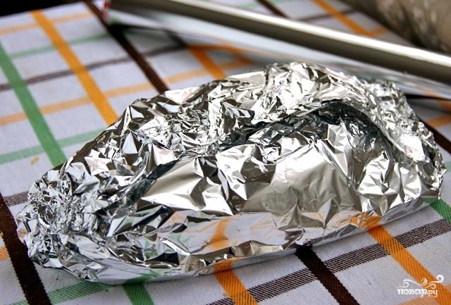 Багет с сыром и чесноком - фото шаг 8