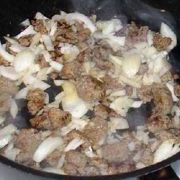 Ротини с итальянской колбасой - фото шаг 4