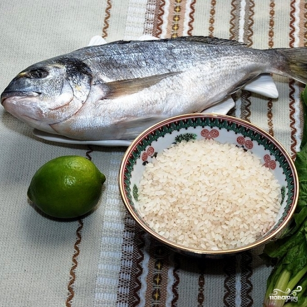 Рецепт Дорадо на гриле
