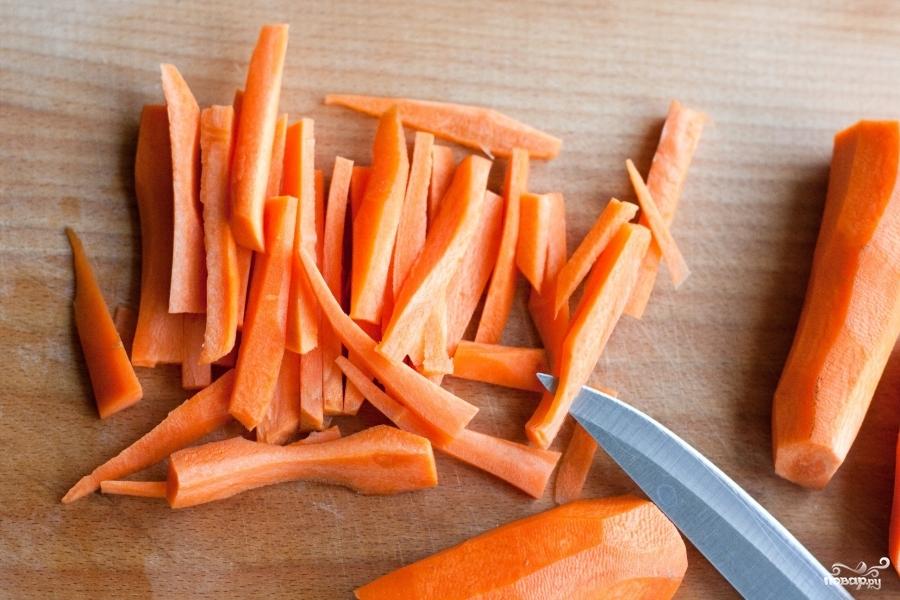 Рецепт Гарнир из моркови