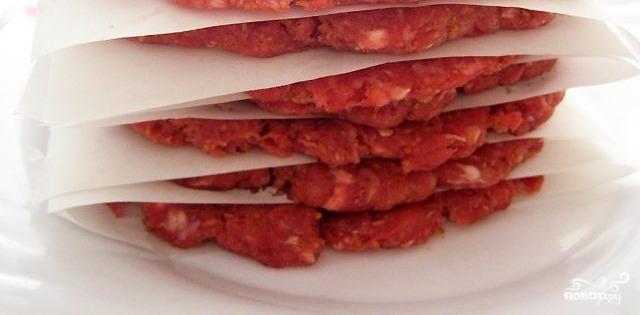 котлеты для гамбургера из говядины рецепт #10