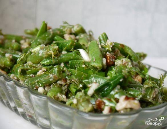Рецепты с зеленой стручковой фасолью