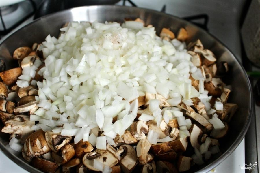 Диетический грибной крем-суп - фото шаг 1