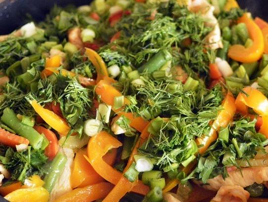 Курица с фасолью и овощами - фото шаг 3