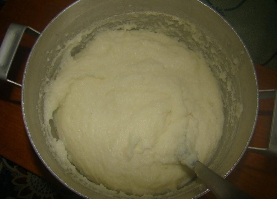 Манник на сковороде - фото шаг 2
