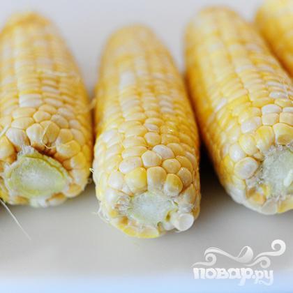 Кукурузный суп с чили - фото шаг 1