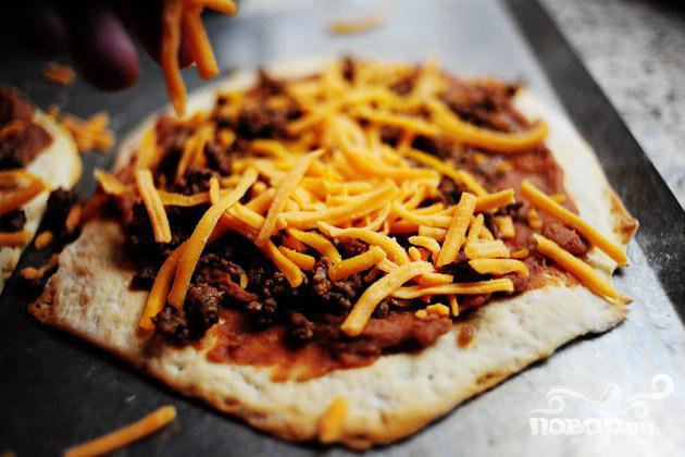 Мексиканская мини-пицца - фото шаг 3