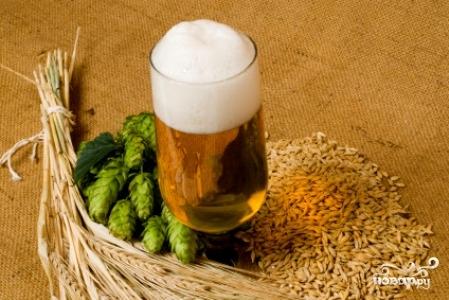 Рецепт Домашнее пиво из ячменя