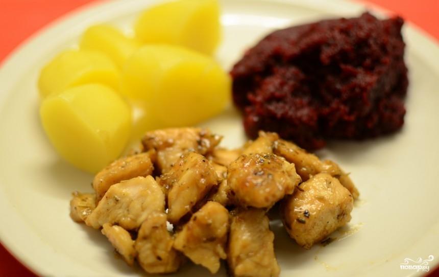 Курица с овощами пошаговый рецепт 132