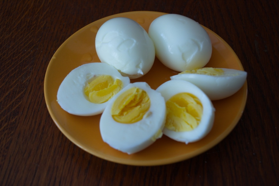 Яйца с начинкой - фото шаг 2