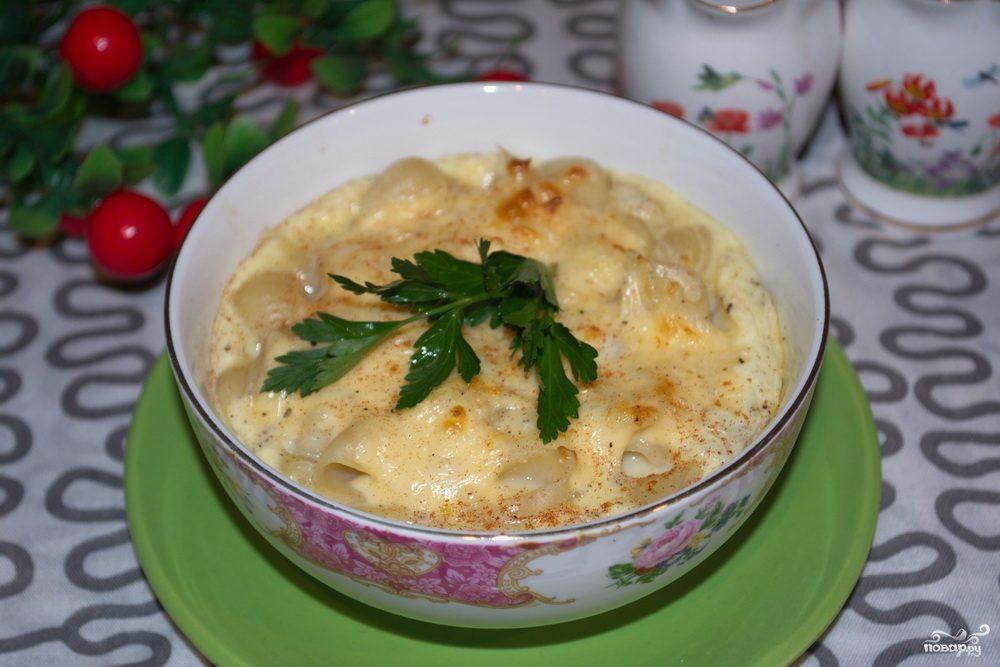 макароны с сыром в духовке рецепты