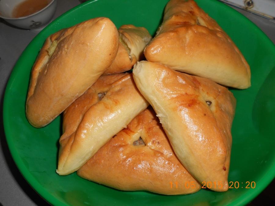 Приготовление пирожков пошаговое