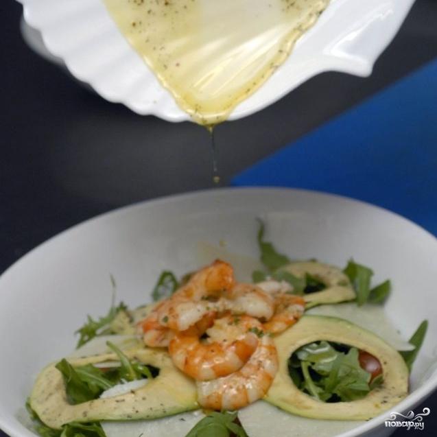 """Салат с креветками """"Вкусный"""" - фото шаг 10"""